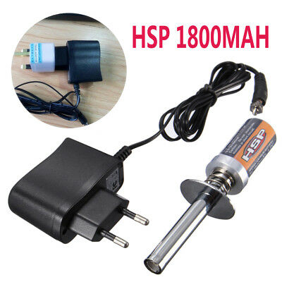 For HSP Nitro RC Car Plane 80101 Pro Rechargeable Glow Plug Igniter Starter