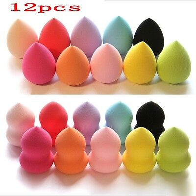 12X Makeup Foundation Sponge Blender Blending Puff Flawless Powder Smooth Beauty