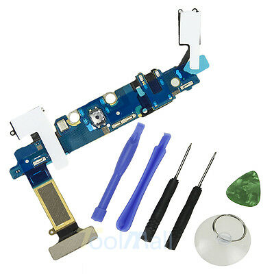 For Samsung Galaxy S6 G920A USB Charging Port Dock Connector Flex Cable+Tools