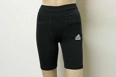 Black Tech Fit Trousers by adidas Tracksuit bottoms Running tights in the Size