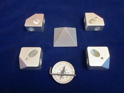 Pyramid Connecting Connector corner kit for 15&16mm tube size Perfect Giza angle