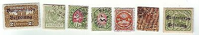 Old Europe * Local Burgenlands == 2 ==    Mint + 5  Others Used