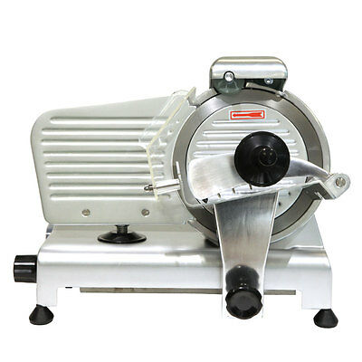 """8"""" Stainless Steel&Aluminum Alloy Meat Slicer Commercial Meat Cheese Food Slicer"""
