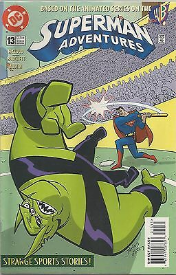 SUPERMAN ANIMATED ADVENTURES #13 Back Issue (S)