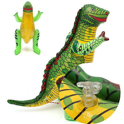 Funny Inflatable Dinosaur Blow Up Kids Childrens Party Pool Beach Ball Party Toy