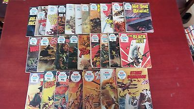 27 War picture library comics 1961 to 1983 all in good condition at least