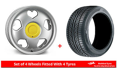 """Alloy Wheels & Tyres 16"""" Tansy Love For MG ZR 01-05"""