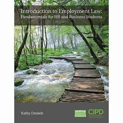 Introduction to Employment Law : Fundamentals for HR an - Paperback NEW Kathy Da