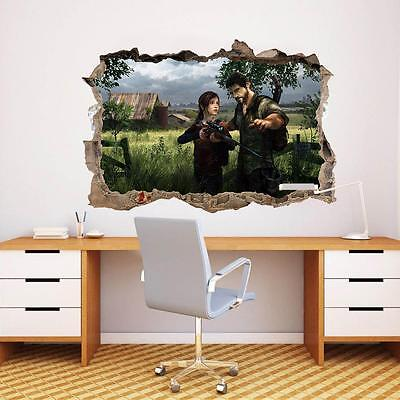 The Last Of Us Smashed Wall Decal Graphic Sticker Decor Art Mural PS4 Game J153