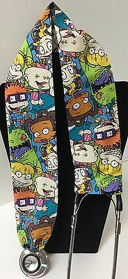 Rug Rats Print MD RN EMT LPN Stethoscope Cover Buy 3 GET FREE SHIPPING