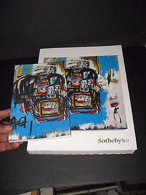 Jean-Michel Basquiat Lot Sotheby's Art  Auction  Catalog  May 18 2017 Brand New