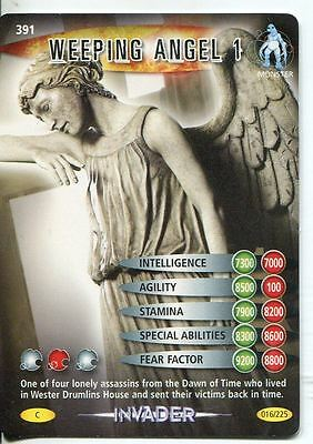 Doctor Who Battles In Time Invader #391 Weeping Angel 1