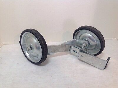 Pair Of Childs  Wald Training Wheels And Brackets