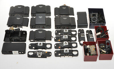 Minox 35, big lot of cameras disassembled not complete only for spare parts