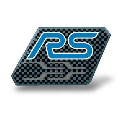 Genuine Ford RS Pin Badge Blue 35020389