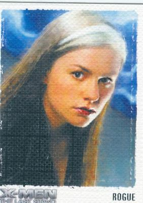 X Men 3 The Final Stand Art & Images Chase Card ART7 Rogue