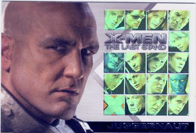 X Men 3 The Final Stand Casting Call Chase Card CC14 Vinnie Jones as Juggernaut