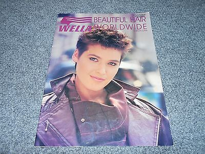 Wella Worldwide Edition #1 Vintage Early 90's Hair Style Salon Photo Book