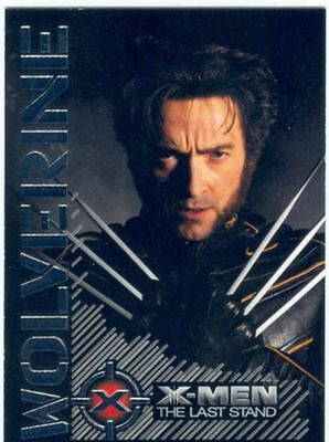 X Men 3 The Final Stand Wolverine Portrait Of A Hero Chase Card W1