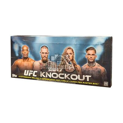 2017 Topps UFC Knockout Hobby Box