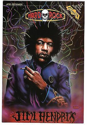 "Hard Rock Comics #12  Jimi Hendrix (1993)  VF  1st Print  ""Revolutionary Press"""