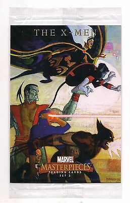 2008 Marvel Masterpieces Series 2 Sealed Box Topper Oversized Card Nm X-Men