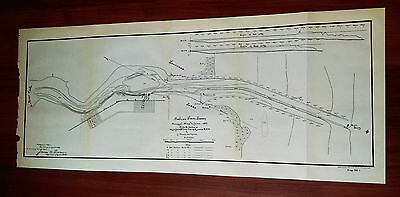 1899 Map of Sabine Pass Texas Survey