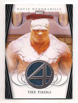 2008 MARVEL MASTERPIECES SERIES 2 THING COSTUME RELIC CARD NM Michael Chiklis