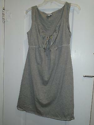 Maternity Nightgown Sz Large Mimi's Maternity Gray Sleeveless