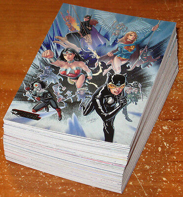 DC Comics Women of Legend ~ COMPLETE 63-CARD FOIL PARALLEL BASE SET