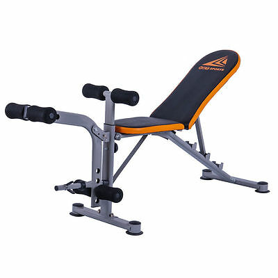 Adjustable Weight Bench Exercise Lifting Abs Workout Incline Flat Decline Press