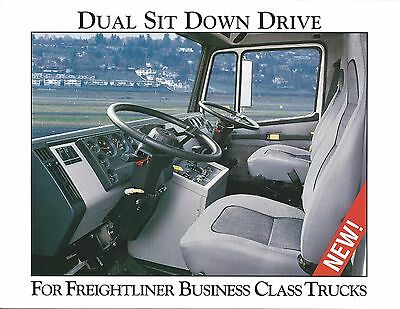 Truck Brochure - Freightliner - Business Class - Dual Sit Down Drive (T2110)