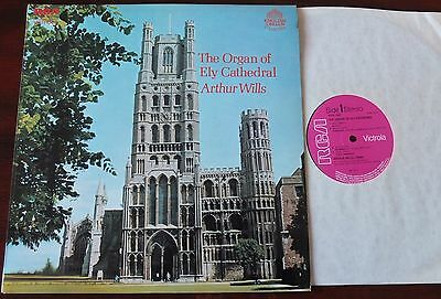 The Organ Of Ely Cathedral Lp Wills Rca Vics 1643 Ex++ England (1972)