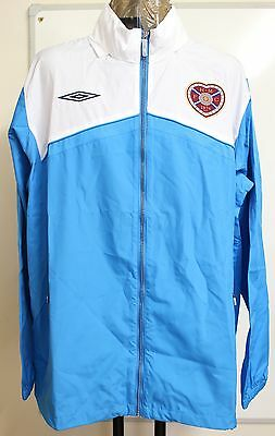 Hearts 09/10 Fusion Training Shower Jacket By Umbro Adults Size Xxl Brand New