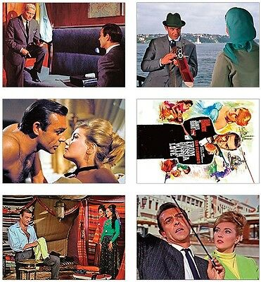 From Russia with Love James Bond 007 POSTCARD Set