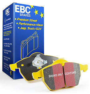 Ebc Yellowstuff Brake Pads Front Dp4605/2R For Ford Escort Mk5 1.8 1991 - 1995