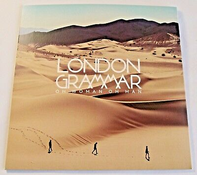 """London Grammar - Oh Woman Oh Man - NEW 7"""" Vinyl - Limited Edition Number 1347"""