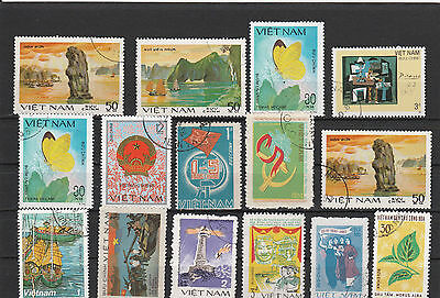 Vietnam older Postage stamps Mix Los Right 4054