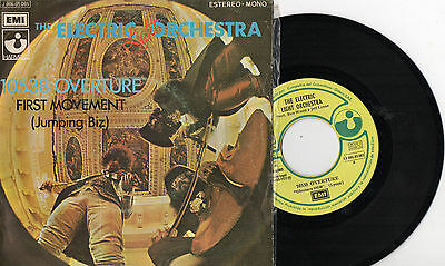 """THE ELECTRIC LIGHT ORCHESTRA - 10538 Overture, SG 7"""" RARE SPAIN 1972"""