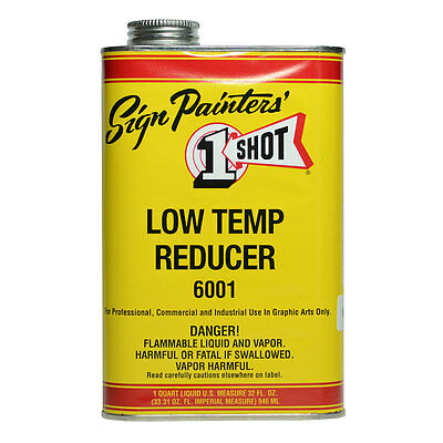 One Shot Low Temperature Reducer 946ml : By Road Parcel Only