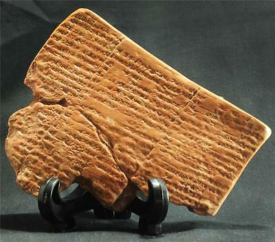 SUMERIAN FLOOD STORY Cuneiform Tablet 1740 BC historical replica