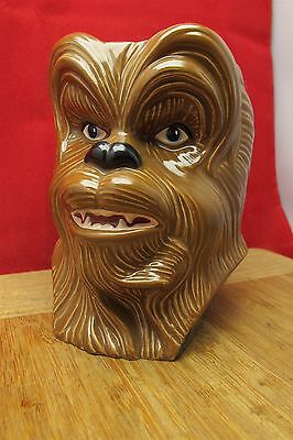 Vtg 1997 Applause Star Wars Chewbacca Lucas film mug nice nice