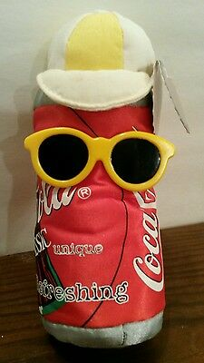 Coca-cola bean bag plush Can in Shades style #0132