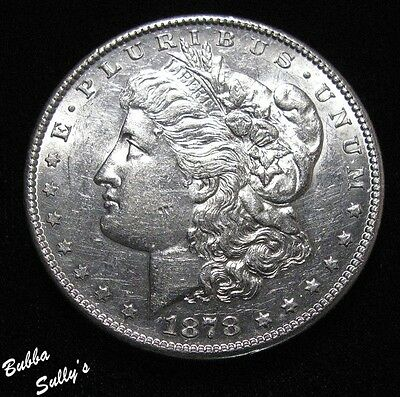 1878 S Morgan Silver Dollar <> ABOUT UNCIRCULATED