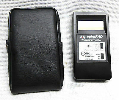 palmRAD 907 Nuclear Radiation Meter Alpha Beta Gamma X-Ray Detection