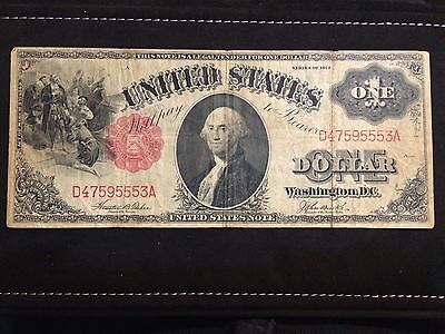 Series 1917 $1 United States Note