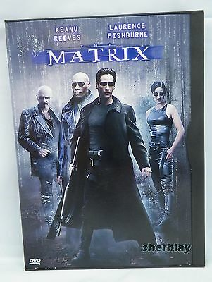 The Matrix (DVD, 1999) Movie Keanu Reeves Laurence Fishburne