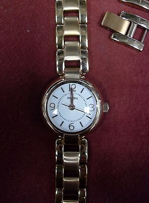 Women's Fossil Watch .99Cent No Reserve