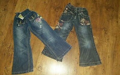 Girls Next Jeans x2 Age 6 Years