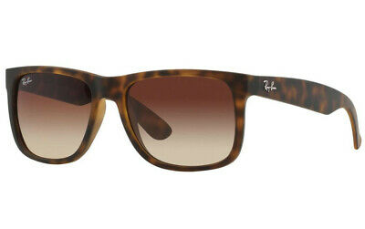 Ray-Ban Justin Classic Sunglasses 54mm (Tortoise / Brown Gradient)